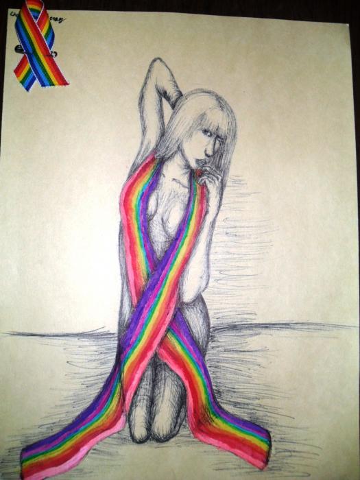Lady Gaga by ladypaintbrush